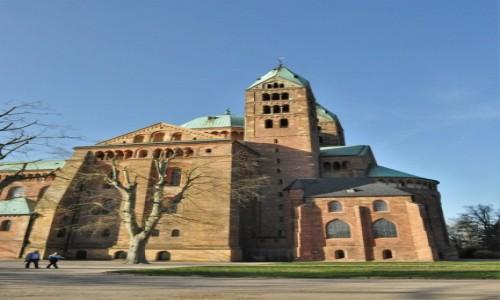 Zdjęcie NIEMCY / Nadrenia-Palatynat / Spira / Spira, romańska katedra XI/XII w.