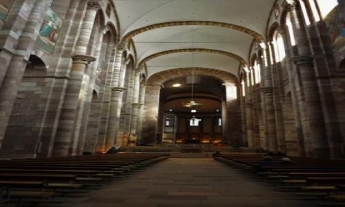 Zdjęcie NIEMCY / Nadrenia-Palatynat / Spira / Bazylika katedralna Wniebowzięcia Najświętszej Marii Panny i Św. Szczepana w Spirze