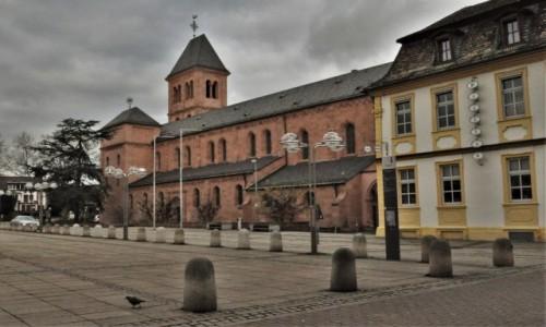 Zdjęcie NIEMCY / Nadrenia-Palatynat / Worms / Worms, kościół św. Marcina