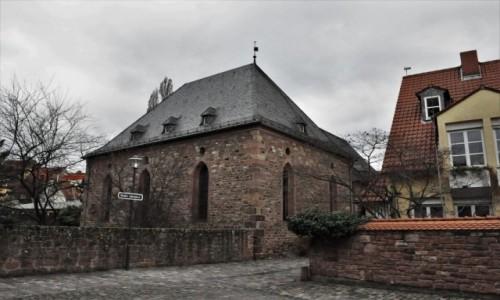 Zdjęcie NIEMCY / Nadrenia-Palatynat / Worms / Worms, średniowieczna synagoga