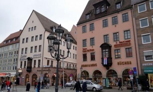Zdjecie NIEMCY / Bayern / Nürnberg / Obrazki z centrum II