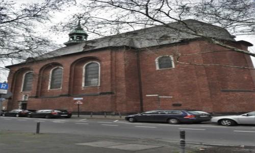 Zdjecie NIEMCY / Nadrenia Północna-Westfalia / Kolonia / Kolonia, XVIII wieczny kościół św. Grzegorza
