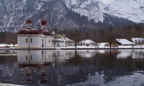 NIEMCY / Bawaria Dolna ( Niederbayern ) / Schönau am Königssee / - Jezioro Królewskie- Bawaria