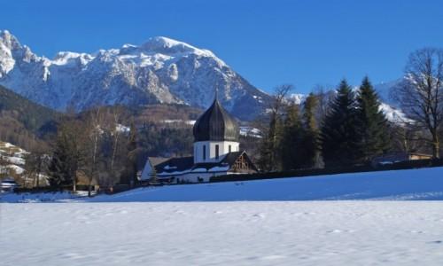 Zdjecie NIEMCY / Bawaria Dolna ( Niederbayern ) / Schönau am Königssee / - Berchtesgadener Land -