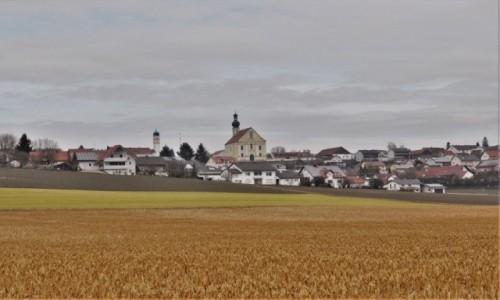 NIEMCY / Oberpfalz / Aufhausen / Aufhausen, panorama