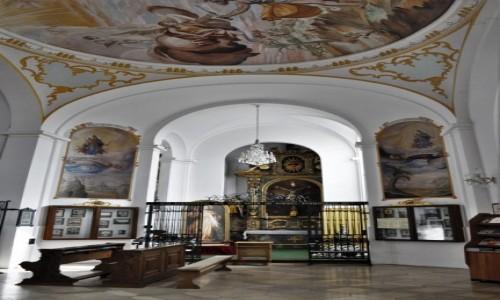 NIEMCY / Oberpfaltz / Aufhausen / Aufhausen, sanktuarium Matki Bożej Śnieżnej, XVII w.