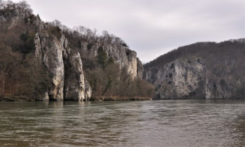 NIEMCY / Niderbayern  / Weltenburg / Weltenburg, Dunaj