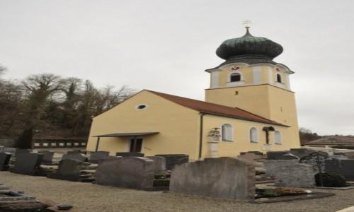 Zdjęcie NIEMCY / Niderbayern / Weltenburg / Weltenburg, kaplica cmentarna