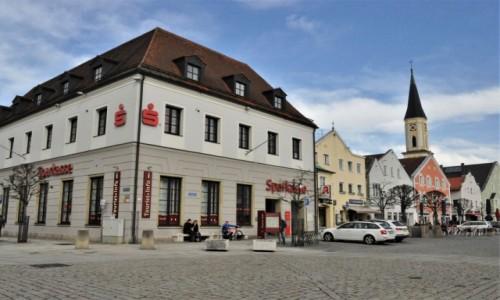 Zdjecie NIEMCY / Niederbayern / Kelheim / Kelheim, stary rynek