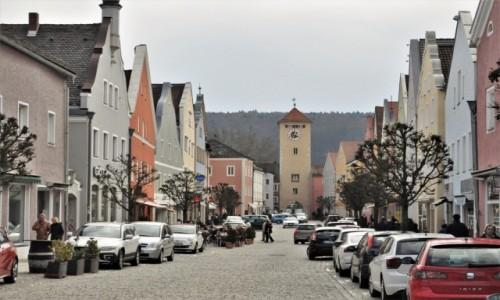 Zdjecie NIEMCY / Niederbayern / Kelheim / Kelheim, stare miasto