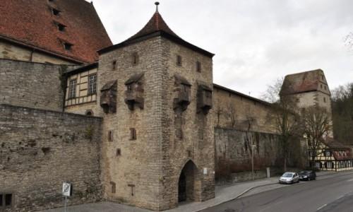 Zdjęcie NIEMCY / Badenia-Wirtembergia / Schwabisch Hall / Schwabisch Hall, fortyfikacje miejskie