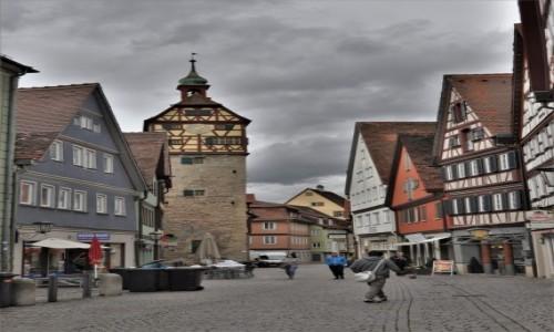 Zdjęcie NIEMCY / Badenia-Wirtembergia / Schwabisch Hall / Schwäbisch Hall, fragment starego aresztu
