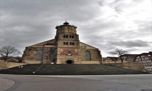 Zdjęcie NIEMCY / Badenia-Wirtembergia / Schwabisch Hall / Evangelische Stadtpfarrkirche St. Michael.