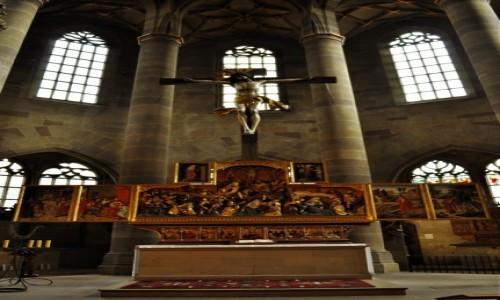 Zdjecie NIEMCY / Badenia-Wirtembergia / Schwabisch Hall / Evangelische Stadtpfarrkirche St. Michael.