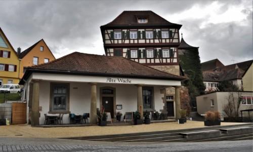 Zdjecie NIEMCY / Badenia-Wirtembergia / Schwabisch Hall / Schwabisch Hall, stara strażnica