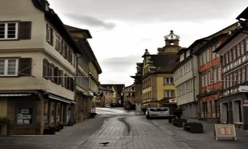Zdjęcie NIEMCY / Badenia-Wirtembergia / Schwabisch Hall / Schwabisch Hall, uliczka