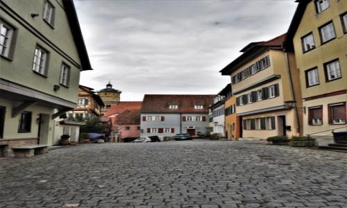 Zdjecie NIEMCY / Badenia-Wirtembergia / Schwabisch Hall / Schwabisch Hall, zakamarki