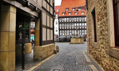 Zdjecie NIEMCY / Dolna Saksonia / Hildesheim / Uliczkami...