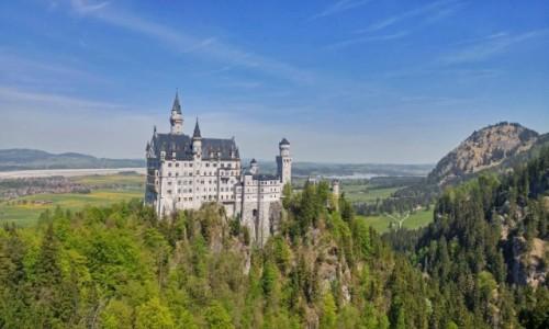 Zdjęcie NIEMCY / Bawaria / Neuschwanstein / Zamek szalonego króla