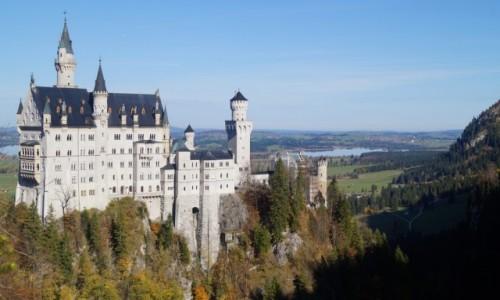 NIEMCY / Bawaria / Neuschwanstein / Jak z bajki