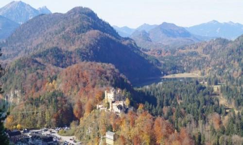 Zdjecie NIEMCY / Bawaria / Hohenschwangau / zamek wyobraźni