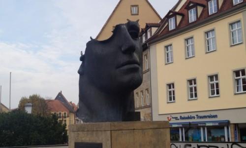 Zdjecie NIEMCY / Bawaria / Bamberg / Urwali mu mózg