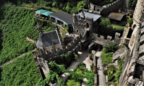 Zdjęcie NIEMCY / Dolina Renu / Rheinstein / Romantik-Schloss Burg Rheinstein