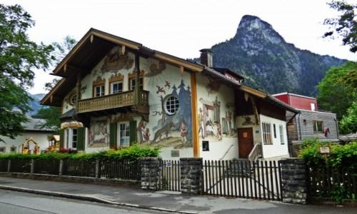 Zdjecie NIEMCY / Bawaria / Oberammergau / Malownicze Niemcy