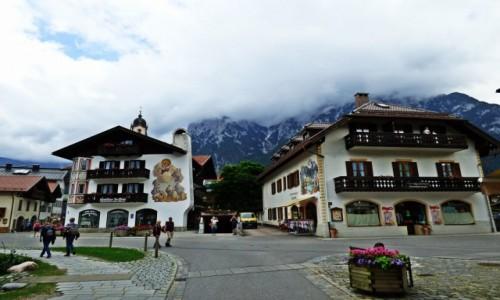 Zdjecie NIEMCY / Bawaria / Mittenwald / Malownicze Niemcy