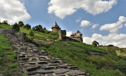 NIEMCY / Dolina Renu / Bacharach / Bacharach, Burg Stahleck