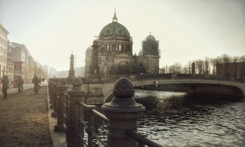 Zdjęcie NIEMCY / - / Berlin / Uśpiony Berlin