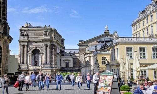 Zdjecie NIEMCY / Saksonia / Drezno / Na Starym Rynku