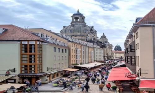 NIEMCY / Saksonia / Drezno / W kierunku Centrum
