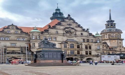 Zdjecie NIEMCY / Saksonia / Drezno / Gmach Sądu Saksonii