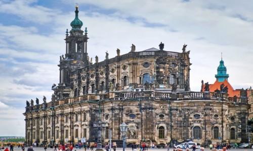 NIEMCY / Saksonia / Drezno / Katedra Św. Trójcy