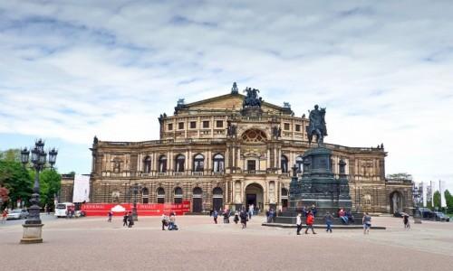 NIEMCY / Saksonia / Drezno / Opera Sempera