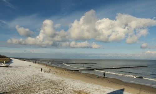 Zdjecie NIEMCY / Koserow / plaża / w pogodny dzień