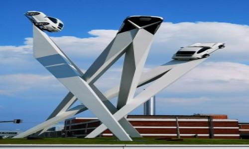 Zdjecie NIEMCY / - / Muzeum Porsche  / Dokąd jadą?