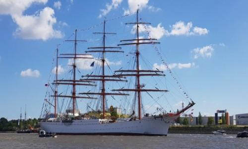 Zdjecie NIEMCY / Północne Niemcy / Port w Hamburgu / Sedov