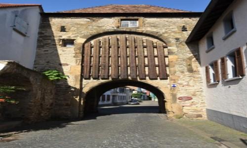 Zdjęcie NIEMCY / Rein Pfalz / Freinsheim / Freinsheim, brama miejska