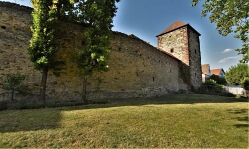 Zdjecie NIEMCY / Rein Pfalz / Freinsheim / Freinsheim, mury miejskie
