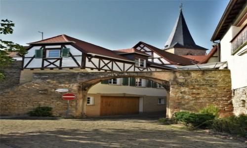 Zdjecie NIEMCY / Rein Pfalz / Freinsheim / Freinsheim, zakamarki