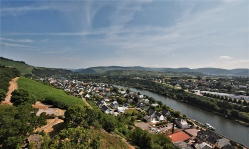 NIEMCY / Nadrenia Pallatynat / Saarburg / Dolina Saary