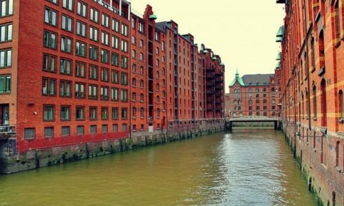 NIEMCY / Hamburg / Hamburg / Nad Łabą