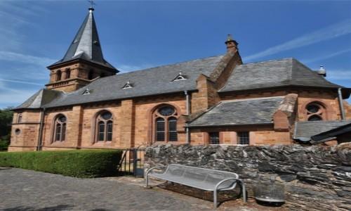 Zdjecie NIEMCY / Nadrenia Pallatynat / Saarburg / Saarburg, kościół ewangelicki