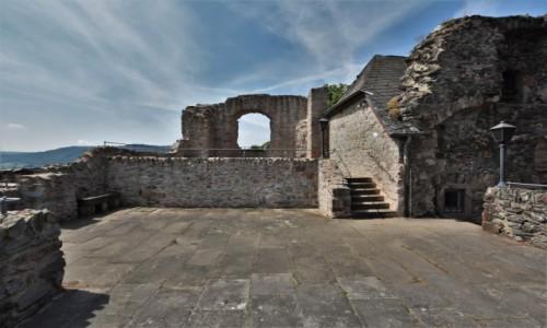 Zdjecie NIEMCY / Nadrenia Pallatynat / Saarburg / Saarburg, zamek