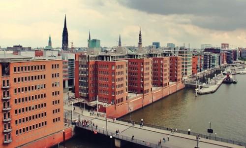 NIEMCY / Hamburg / Hamburg / Nowoczesny Hamburg