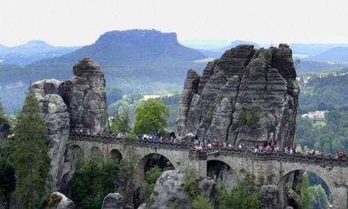 Zdjecie NIEMCY / Sachsen / Bastei / Mostek