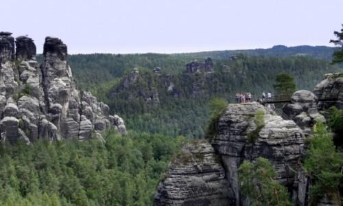 Zdjecie NIEMCY / Sachsen / Bastei / Saska Szwajcaria I