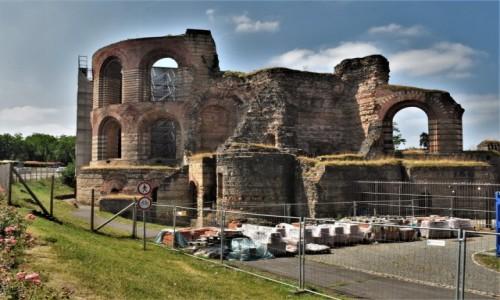 Zdjęcie NIEMCY / Nadrenia-Palatynat / Trewir / Trewir, starożytne termy